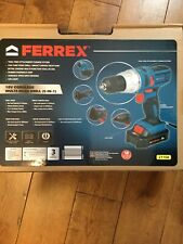 New 21104 Ferrex 18 V Multi Head Drill 5 In 1 With Battery And Charger