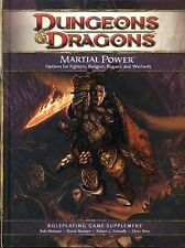 MARTIAL POWER VF! 4E Player's Handbook D&D Dungeons Dragons 4th Fighters Rangers