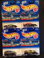 HOT WHEELS 2000 FUTURE FLEET SERIES COMPLETE - ALL 4- NEW - FORD GT-90, JEEPSTER