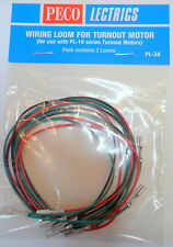 New Peco PL-34 Wiring Loom For Turnout Motor