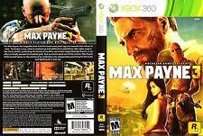 ***Max Payne 3 (Microsoft Xbox 360, 2012)***