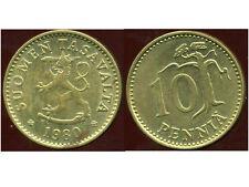FINLANDE 10 pennia 1980
