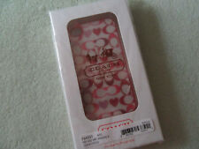 Coach PEY SIG HRT IPHONE 4/4S Multi F64551 IPhone Case NIP NICE!