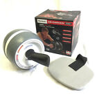 New PERFECT FITNESS Ab-Carver Pro Abdominal Core Exercise Roller - White
