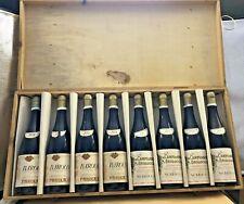 1974.  Parola Giovanni Barolo x4 Nebbiolo x4 Cassa  Legno Originale  8 Bottiglie