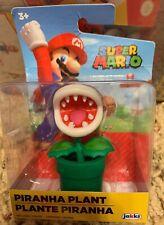 "Piranha Plant Super Mario 2.5"" Action Figure 2019 World of Nintendo Jakks NEW"