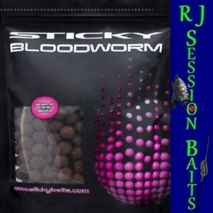 Sticky Baits Bloodworm 16mm Session Pack of 25 Boilies
