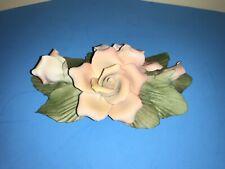 1985 Franklin Mint Italy Capodimonte Cecile Brunner Porcelain Rose Figurine