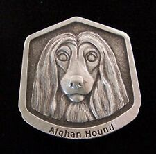Afghan Hound Fine Pewter Dog Breed Ornament