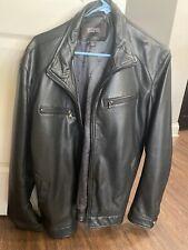 Michael Kors Mens Leather Jacket