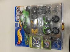 VTG 2001 Hot Wheels MechaniX- Die Cast Quad Customizing Kit~New/Sealed