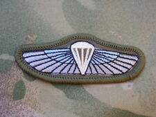 SPECIAL BOAT SERVICE SBS/RM Combat Jacket/Shirt HALO Para Wings Patch/Badge (SN)