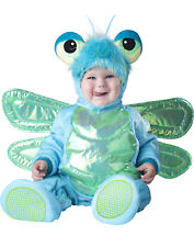 Dinky Dragonfly Blue & Green Baby Bug Infant Halloween Costume-S