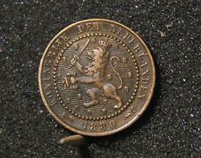 Pays-Bas : 1 cent Guillaume III- 1880 - Très belle qualité !