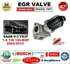 FOR SAAB 9-3 YS3F 1.9 TiD 150-BHP 2004-2015 EGR VALVE 2-PIN with GASKETS/SEALS