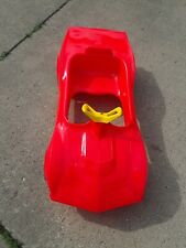 RARE EMPIRE CORVETTE  PEDAL CAR. IN BOX 1970s?