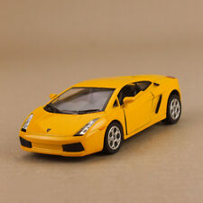 2005 Model Lamborghini Gallardo Yellow 1:32 12cm Die Cast Pull Back Detail Open