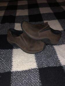 Merrell Men's Jungle Moc Nubuck Slip On Shoes Brown Size 9.5 Men's Comfort