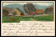 AK GRUSS AUS DEM SCHWARZWALD KÃœNSTLERKARTE 1911 LIESTAL - BERN cs81