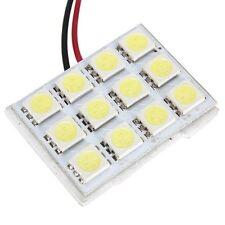 12 SMD 5050 Weiss LED Panel Innenraum Bleuchtung Lampe+T10 Sockel+BA9S Sock L3D5