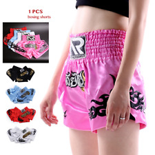 Women Girls Kick Boxing Mma Muay Thai Shorts Kids Fight Trunks Children Training