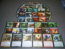 MTG Magic FIVE COLOR SLIVER DECK Galerider Bonescythe Mana Darksteel Custom 5