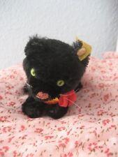 Steiff Miniatur Katze Kitty Schwarz., ca. 10 cm, Neu und unbespielt!!