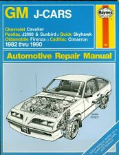 Haynes General Motors J-Cars Owners Workshop Manuals, No. 766 : 1982-1989