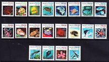 More details for palau 1983 sg9/24 - set of 20 - marine life - unmounted mint. catalogue £65