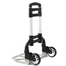 Aluminium Folding Push Cart Portable Dolly Push Travel Shopping Trolley Luggage