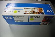 TONER HP ORIGINAL C9702A YELLOW JAUNE (121A) LASERJET 1500 2500 NEUF NEW