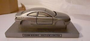 SOLIDO  rare presse papier  PEUGEOT 406  coupé  ech 1/43  neuf   édition limitée