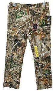 Men's Realtree Flex Fabric  Cargo 5 Pocket Camo Pants  Size 28/30 Hunting Hiking