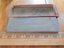 Antique Carborundum Razor Hone in Partial Original Box! Used, Good!