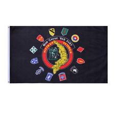 3x5 Black Vietnam Veteran Veterans of America Flag 3'x5' Banner Brass Grommets