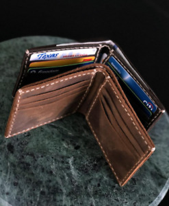 Wallet Handmade leather wallet Leather Personalized Wallet Man.-.-