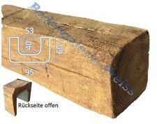 2 Meter Deckenbalken 95x60mm - Dekorbalken - PU-Balken - Holzimitat Eiche hell