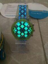 Vintage MPG Flashin' Watch Glow WristWatch Rare New Needs Battery Free Shipping