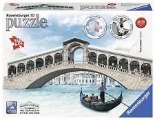 RAVENSBURGER 3D PUZZLE 216 PEZZI PONTE DI RIALTO VENEZIA  ART 12518