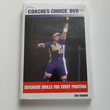 Softball Defensive Drills For Every Position (DVD, 2004) Sue Enquist