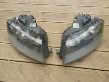 AUDI A3 8P 2004-09 PAIR OF Headlights lamps N/S O/S RIGHT LEFT GENUINE PRE FACE