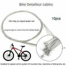 Stainless Steel Bike Gear Inner Shift Cable 10pcs Bicycle Derailleur wire Cable