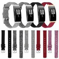 Sport Woven Nylon Armband Uhrenarmband Band Strap Für Fitbit Inspire HR/Inspire