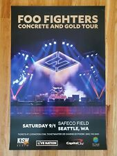 Foo Fighters - Concrete and Gold Tour Announcement Promo Only! Last One!