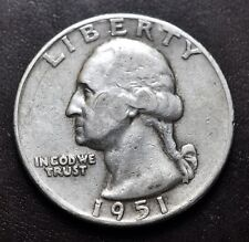 1951  USA  Quarter Dollar silver