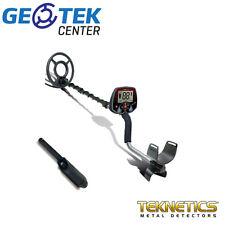 """Metal Detector Teknetics Eurotek Pro 8"""" + Pinpointer Fisher"""
