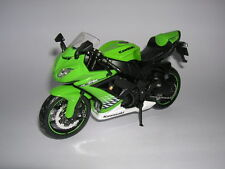 Maisto Kawasaki Ninja ZX-10R / ZX10R grün green, 1:12 Motorrad Moto Motorbike