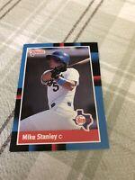 1988 Donruss Texas Rangers Baseball Card #259 Mike Stanley
