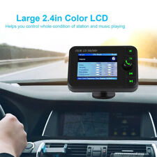 2.4 inch bluetooth Car DAB Radio Adapter Transmitter FM Handsfree Music Player