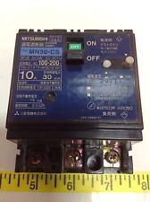 MITSUBISHI 3 POLE 50-60HZ 10AMP CIRCUIT BREAKER MN30-CS 101683